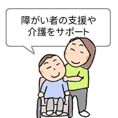 障がい者への介護や支援を受けたい